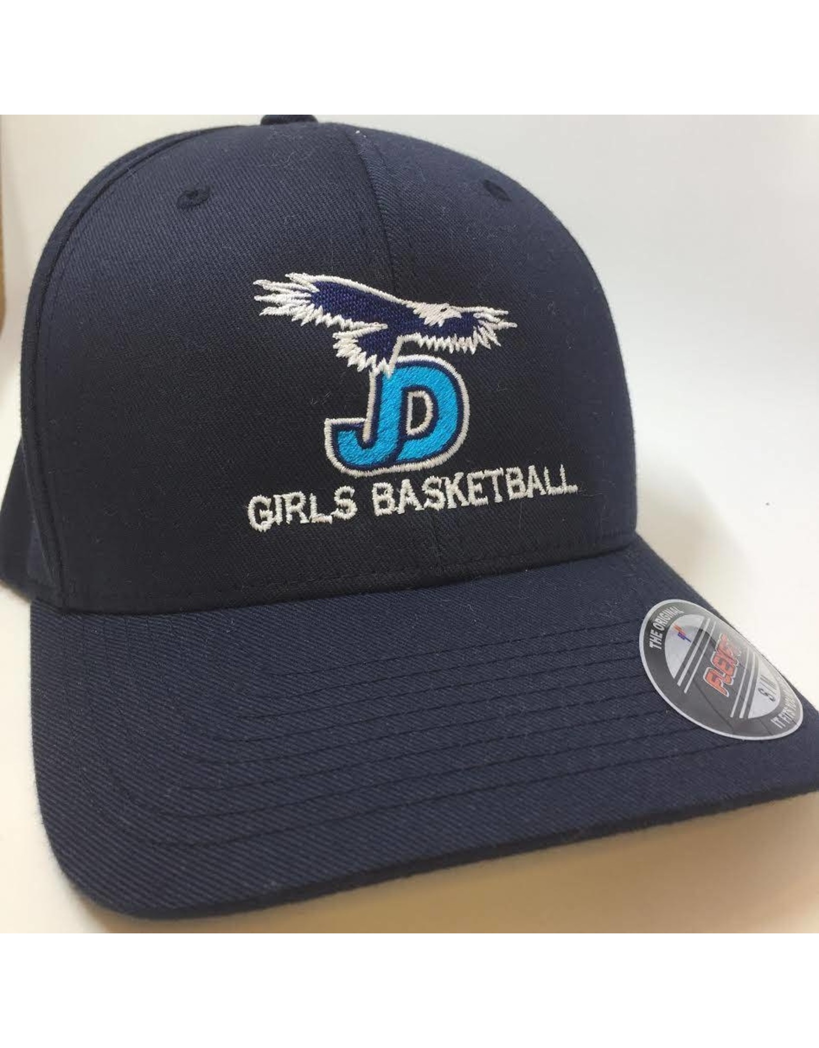 NON-UNIFORM Navy Girls Basketball Embroidered Ball Cap
