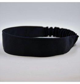 "UNIFORM Navy Soft Headband, elastic back approx. 1 1/2"" wide"