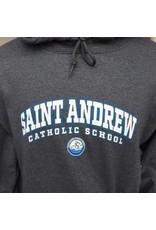 NON-UNIFORM SWEATSHIRT - Saint Andrew Hooded Pullover Spirit Sweatshirt, Navy
