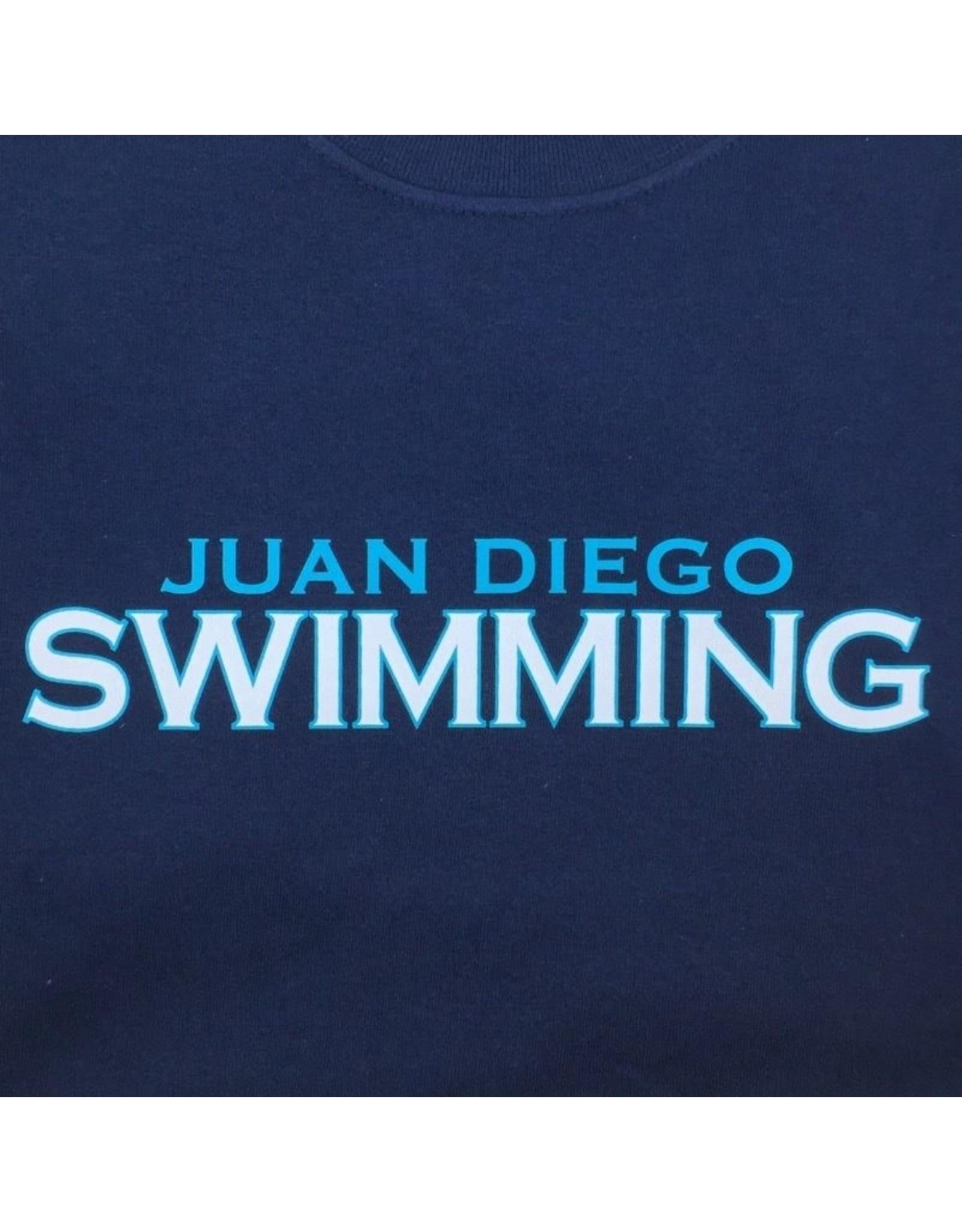 NON-UNIFORM Swimming, Juan Diego Swimming Custom Order Navy Unisex s/s t-shirt