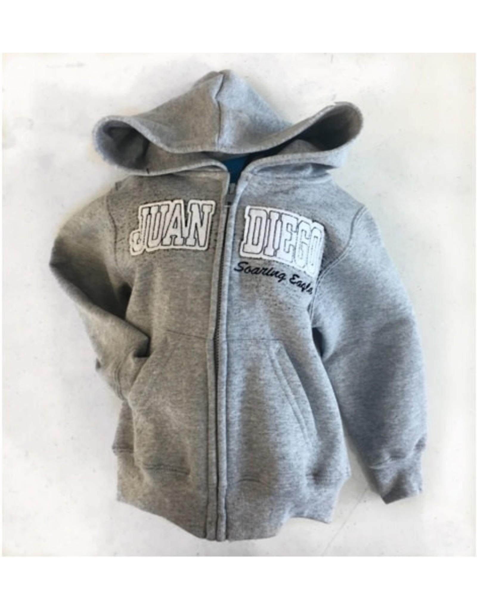 NON-UNIFORM Toddler/Infant - Zip Hoodie, Gray