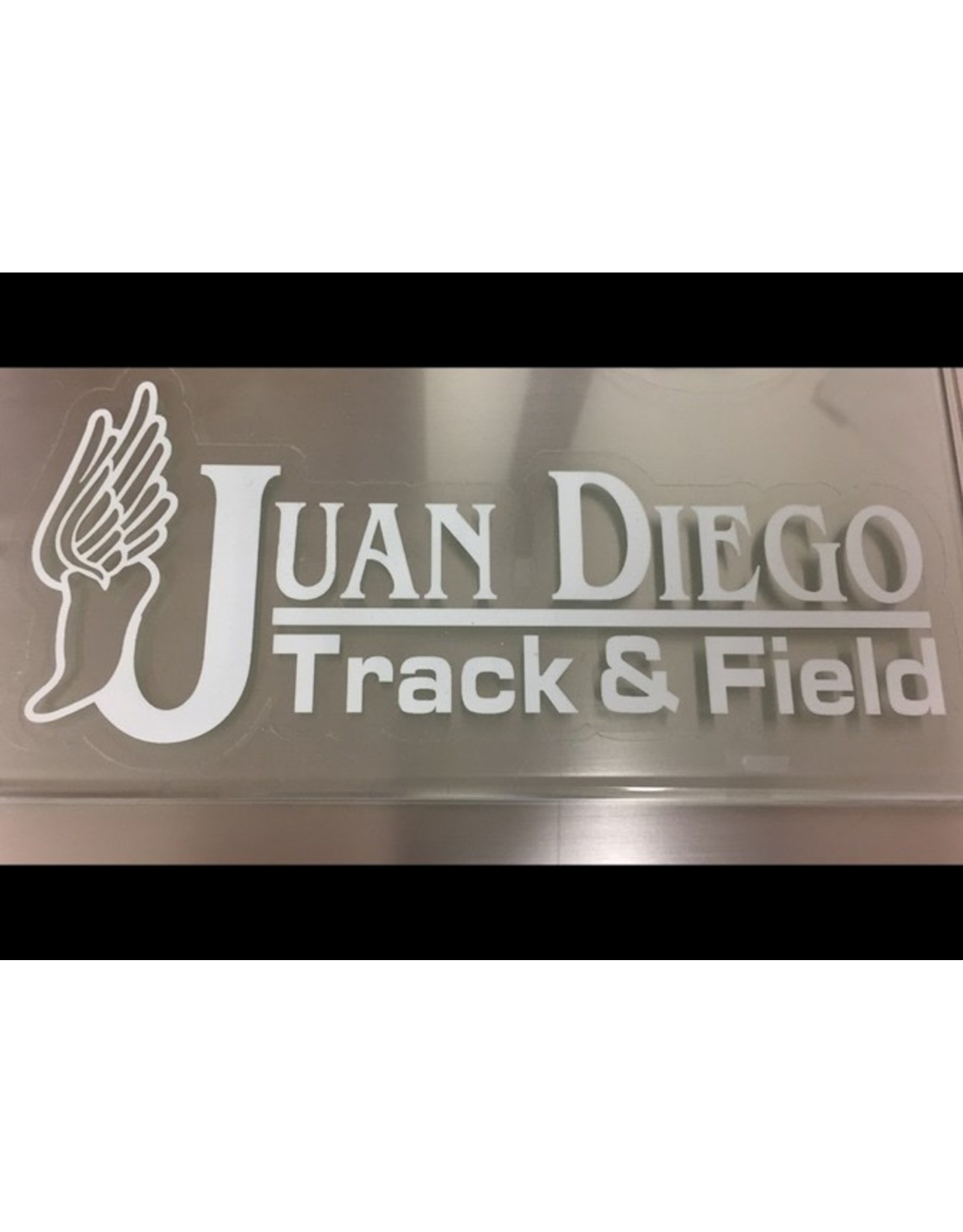 NON-UNIFORM Track & Field - Decal, clearance, sold as is