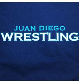NON-UNIFORM Wrestling, Juan Diego Wrestling Custom Order Navy Unisex s/s t-shirt