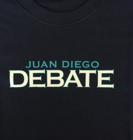 NON-UNIFORM Debate, Juan Diego Debate Custom Order Navy Unisex s/s t-shirt