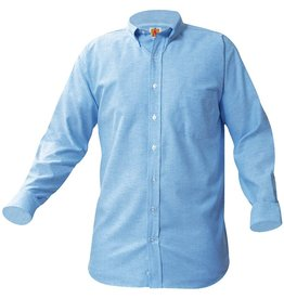 UNIFORM Boys Oxford Long Sleeve, Blue