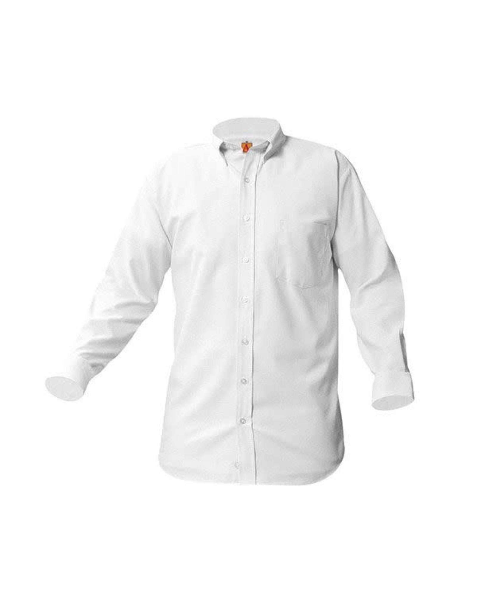UNIFORM Boys Oxford Long Sleeve, White