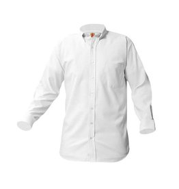 UNIFORM Boys Oxford Long Sleeve, White