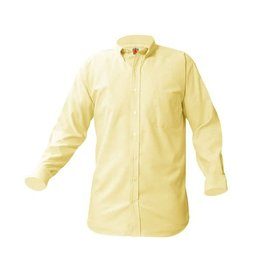UNIFORM Boys Oxford Long Sleeve, Yellow