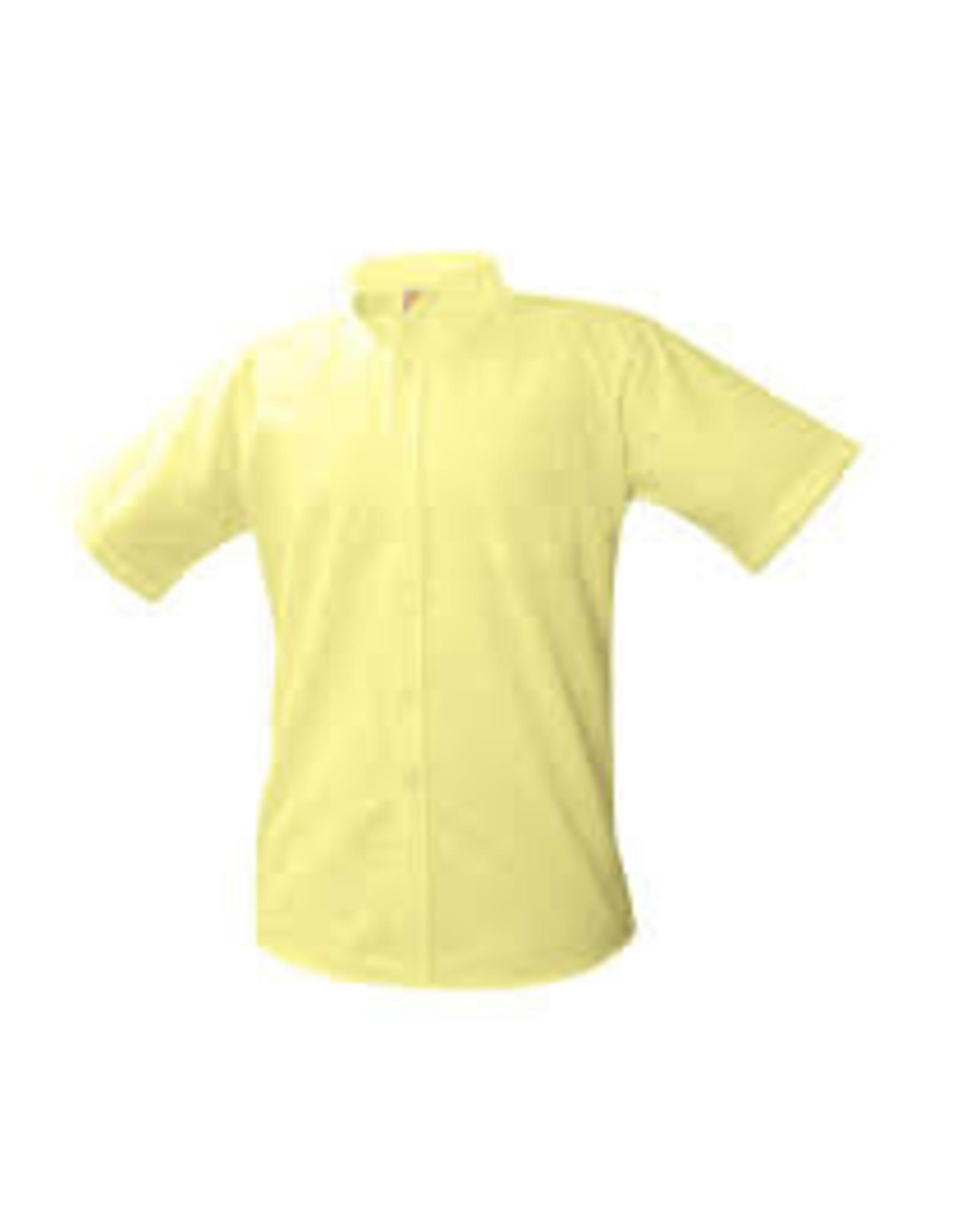 UNIFORM Boys Oxford Short Sleeve, Yellow