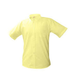 UNIFORM Boys Oxford Short Sleeve, Yellow