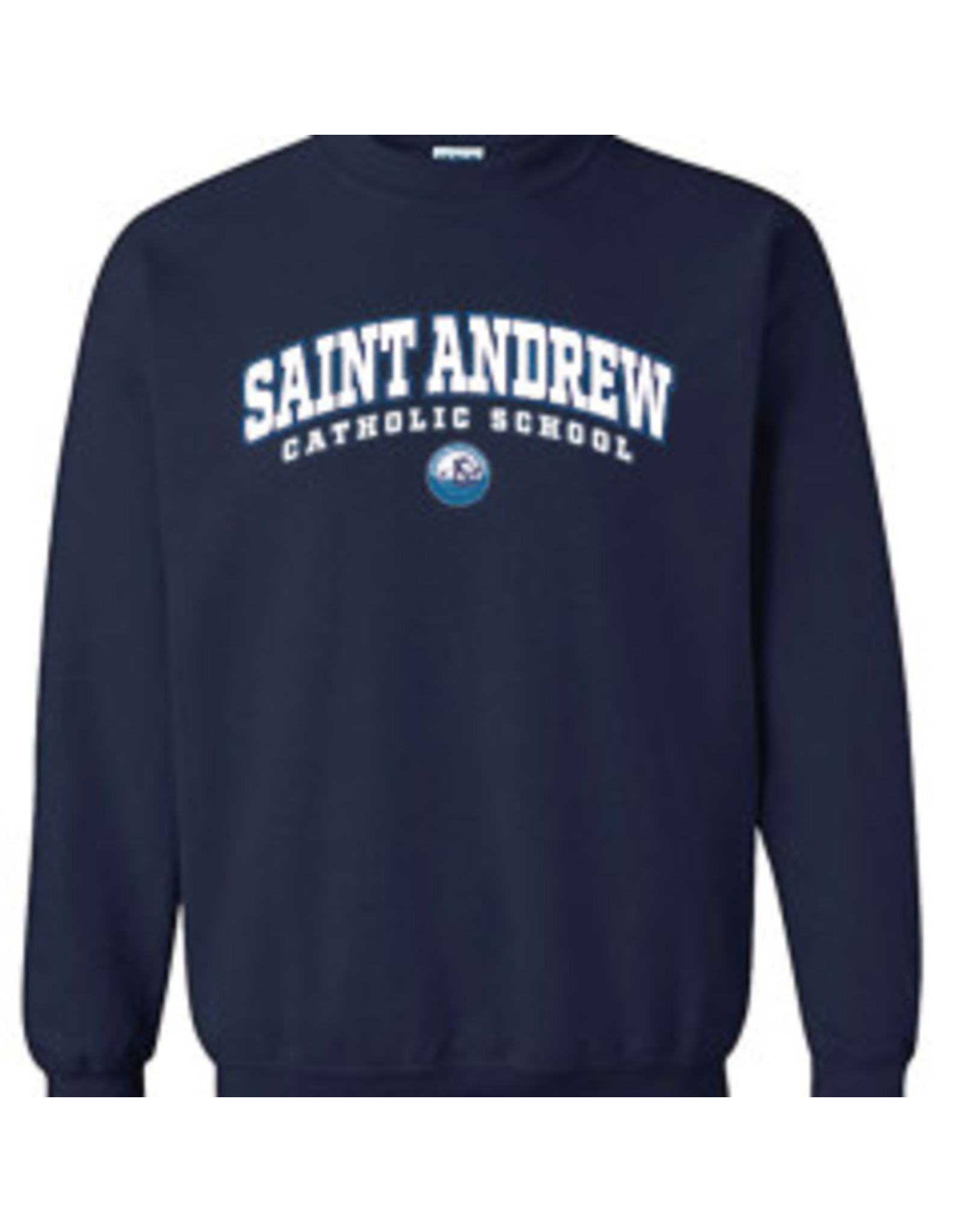 UNIFORM Saint Andrew Crew Neck Sweatshirt, Navy