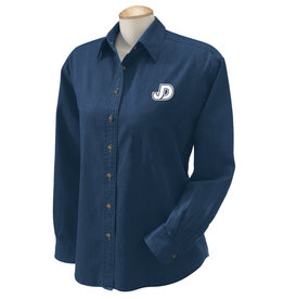 NON-UNIFORM Shirt - JD Denim Ladies long sleeve