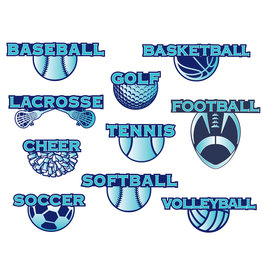 NON-UNIFORM SPORT Sticker - small decal, 3 color