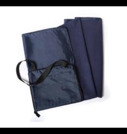 NON-UNIFORM Stadium Travel Blanket for active lifestyle, Navy