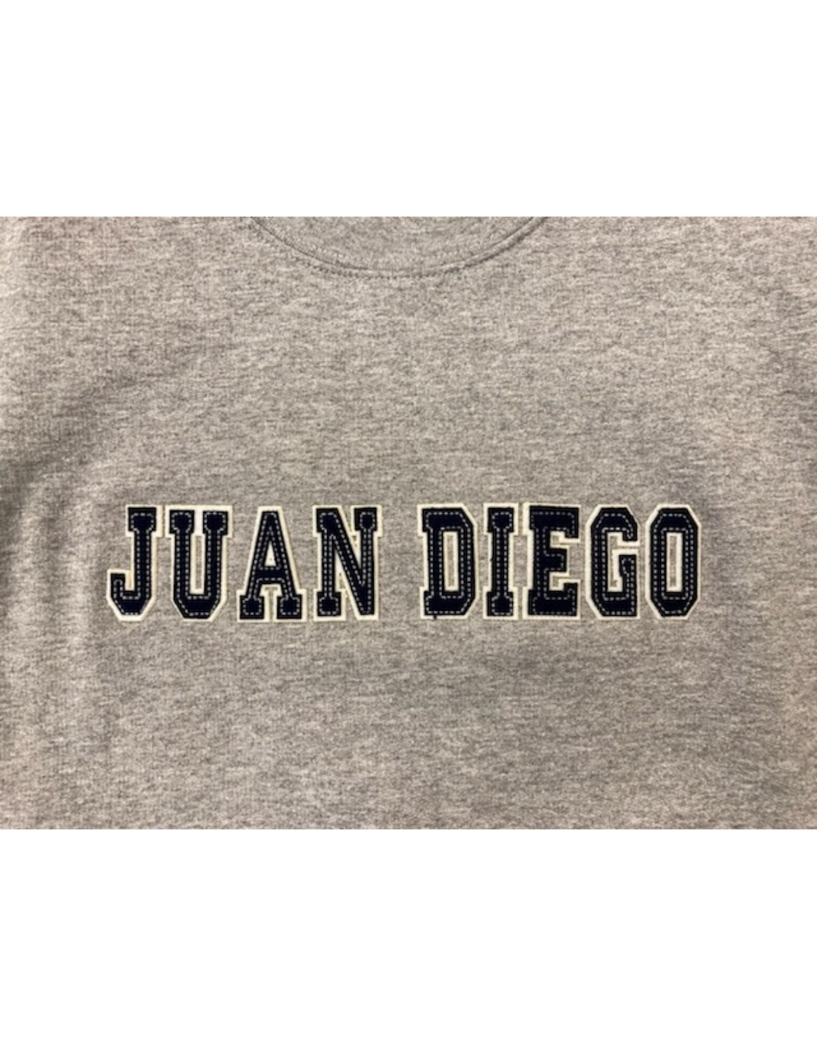NON-UNIFORM Sweatshirt - Juan Diego Applique Fabric Crewneck
