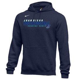 NON-UNIFORM Youth Football Sweatshirt - Nike Fleece Hooded Pullover, JD - Custom, youth & adult sizes