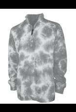 NON-UNIFORM Crosswind 1/4 Zip Tie Dye Sweatshirt