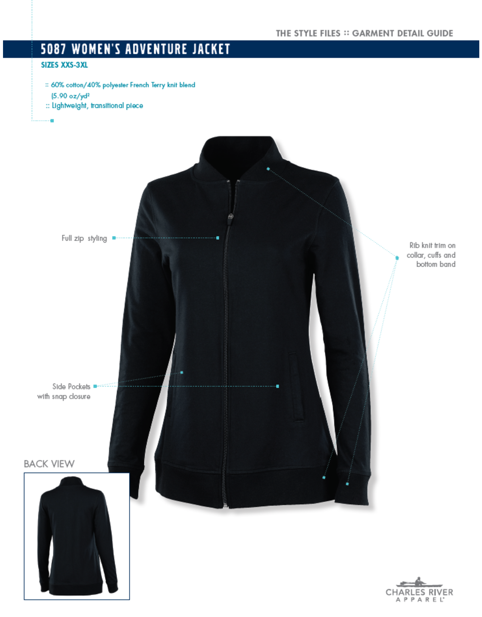 NON-UNIFORM Women's Adventure Jacket, Custom Order