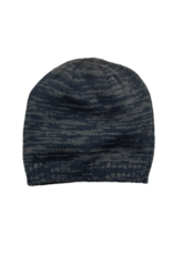 NON-UNIFORM Beanie - Custom Marbled Beanie, Navy/Grey