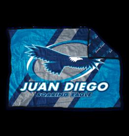 NON-UNIFORM JD D-Luxe Plush Spirit Wrap Blanket, Soaring Eagle, A