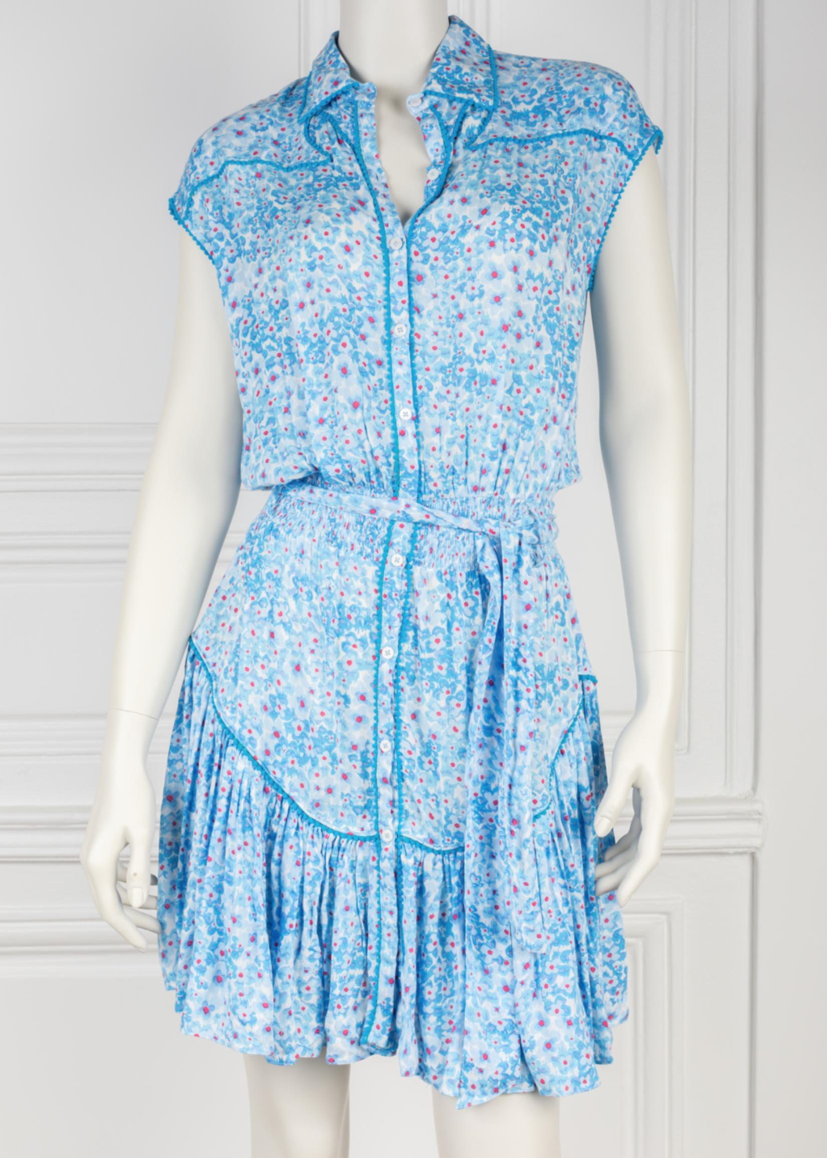 POUPETTE MINI DRESS MARGO BLUE