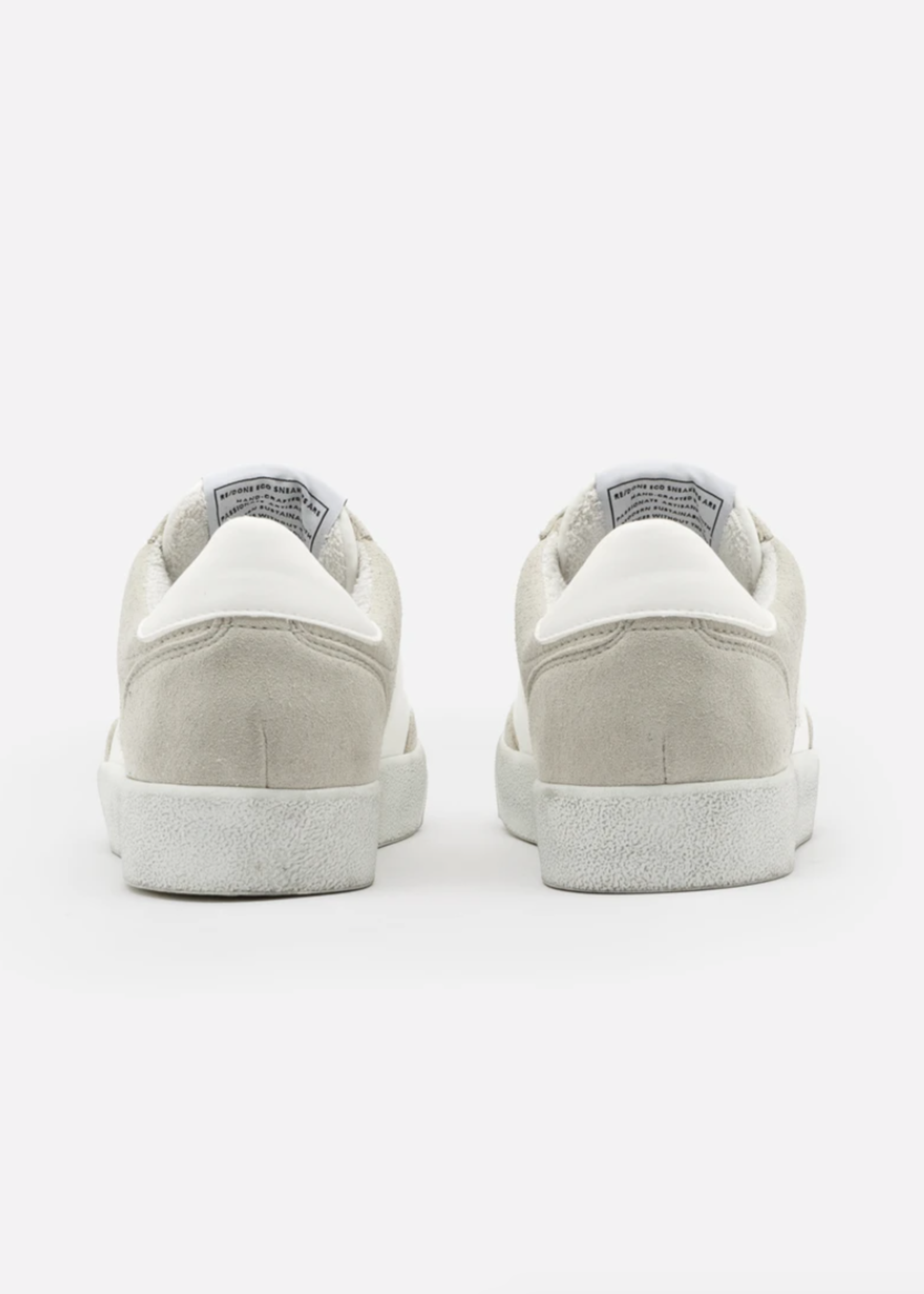 RE.DONE 90'S SKATE SHOE GREY SUEDE 5/21