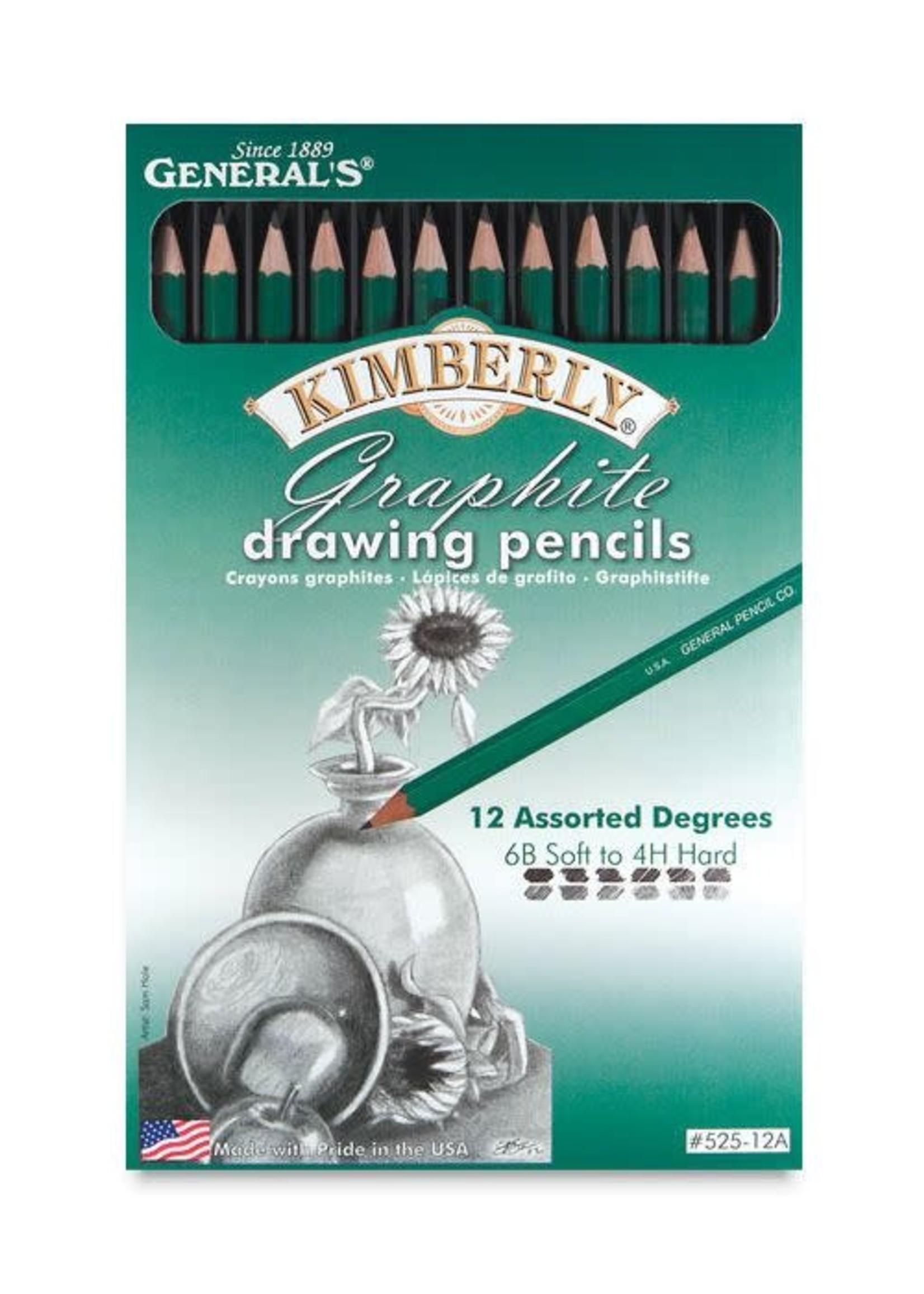 GENERAL PENCIL CO., INC. KIMBERLY DRAWING PENCIL (SETS)