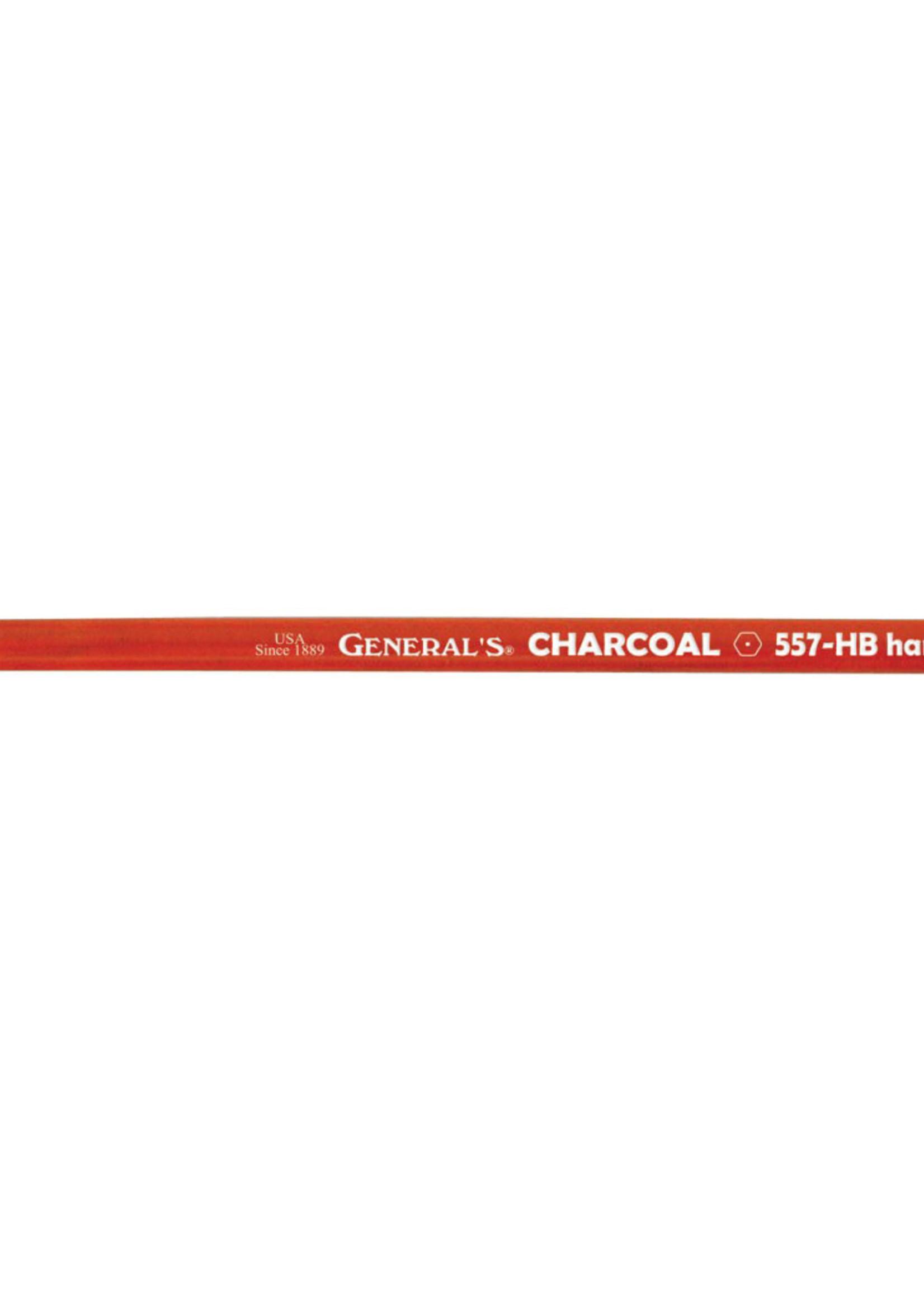 GENERAL PENCIL CO., INC. GENERAL'S CHARCOAL PENCILS (SINGLE)