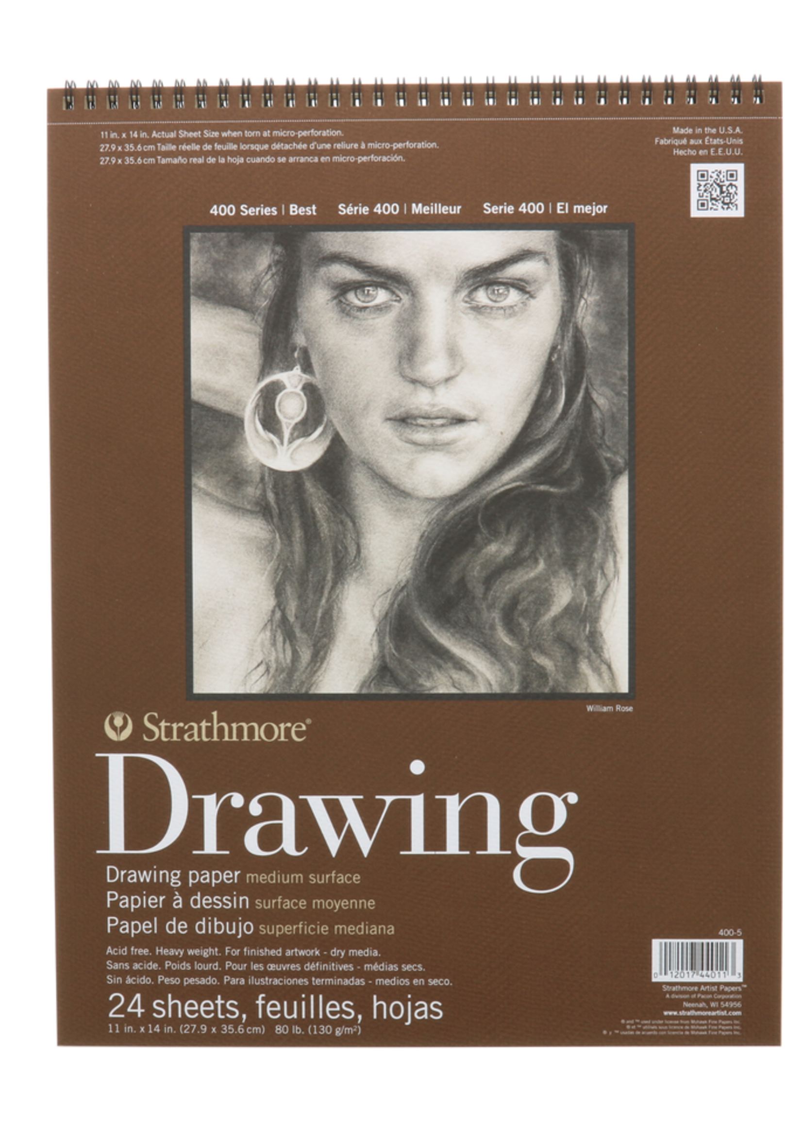 PACON/STRATHMORE DRAWING PAD 24 SHEETS