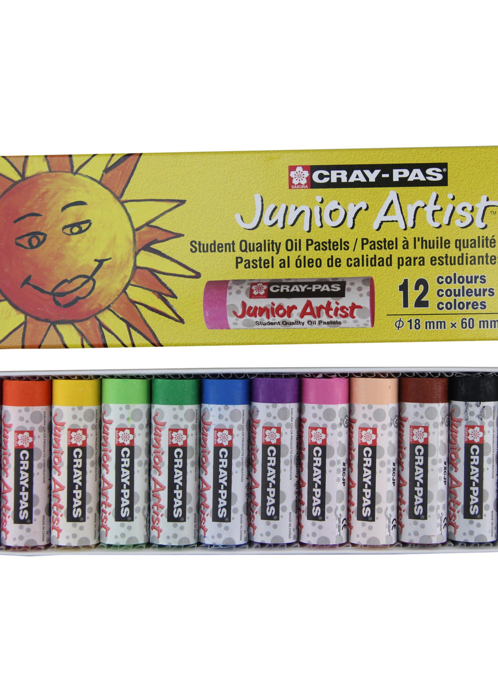 SAKURA OF AMERICA JUNIOR ARTIST OIL PASTEL (SETS)