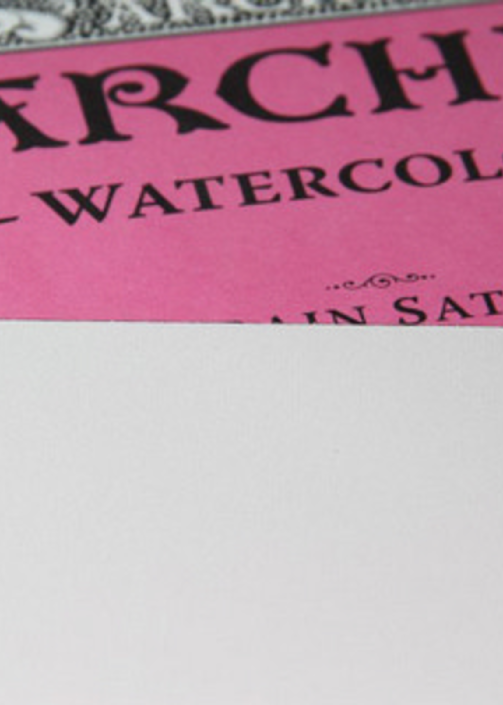 WINSOR & NEWTON ARCHES WATERCOLOUR HOT PRESS NAT WHT BLOCK/PAD