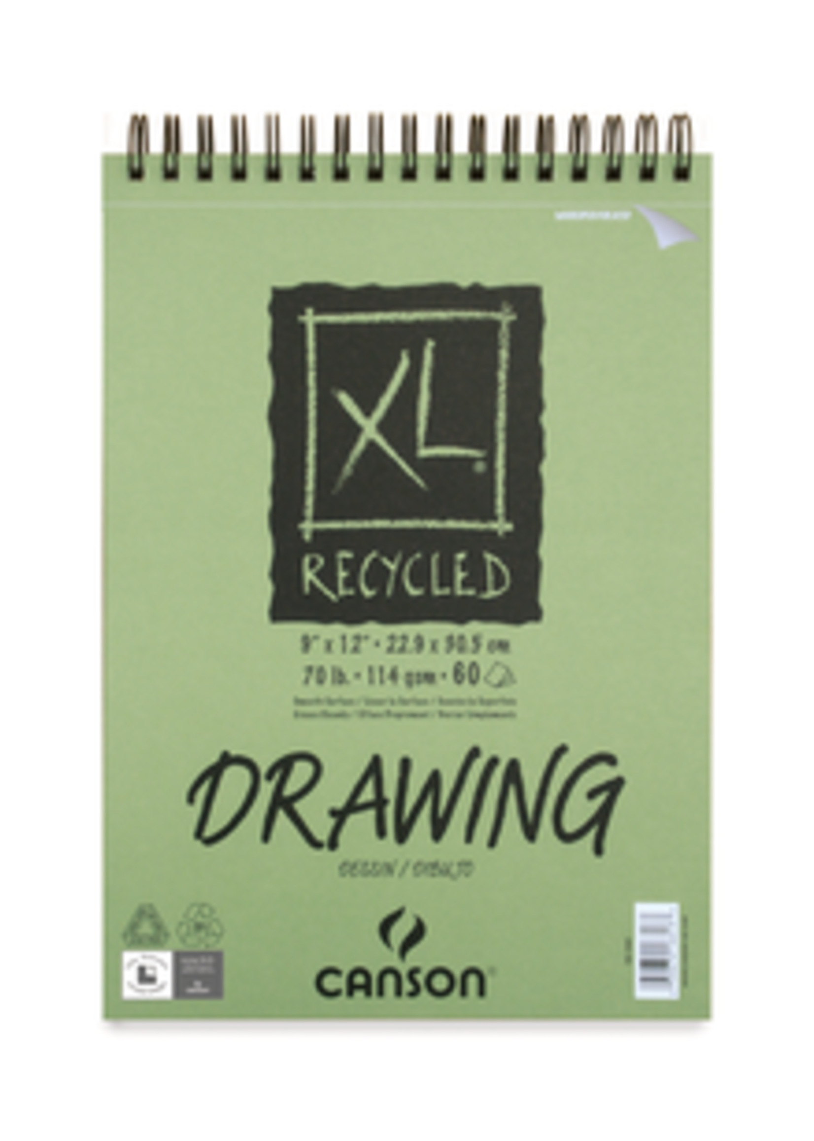CANSON / PACON PAPERS XL DRAWING PAD