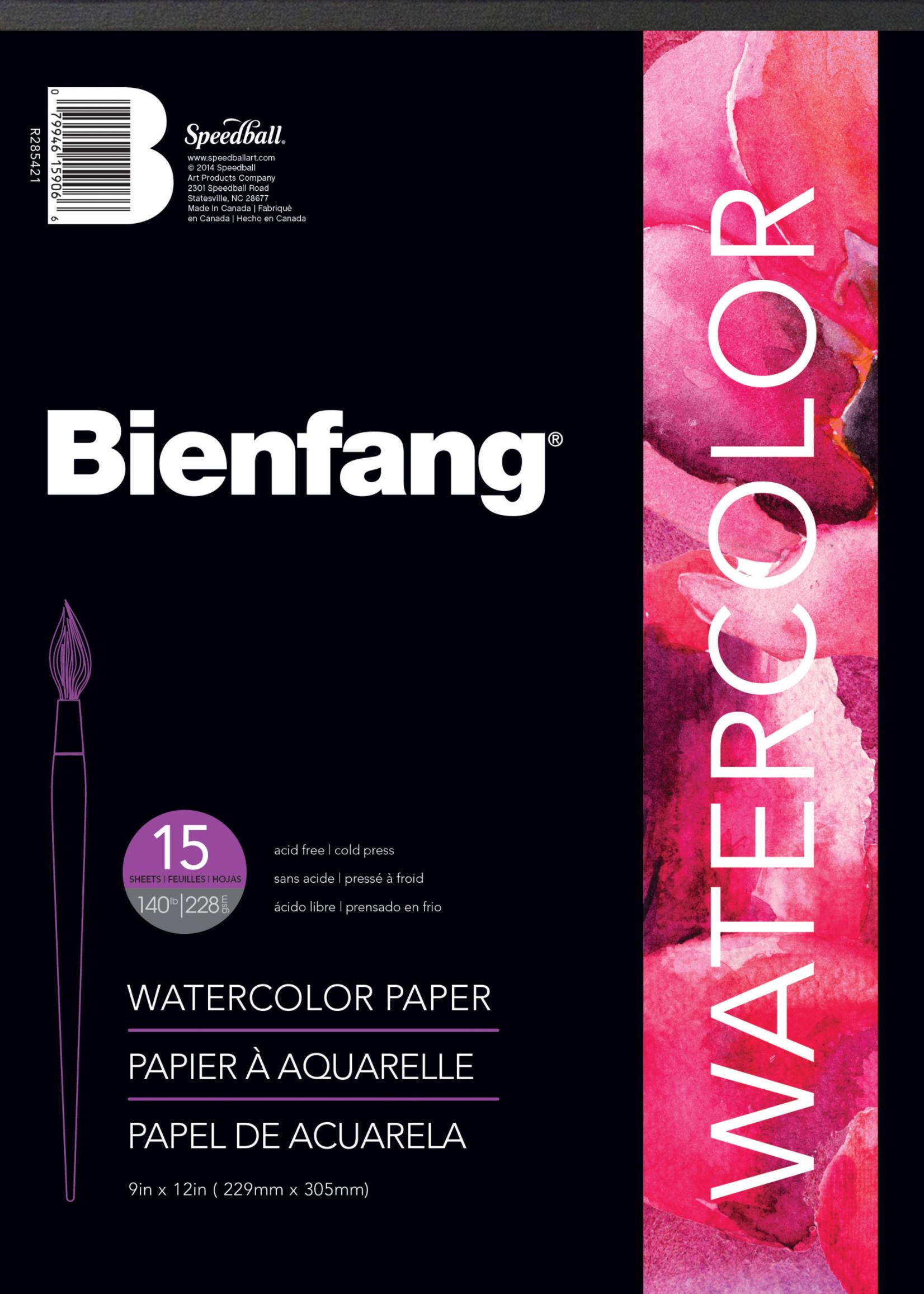 BIENFANG PAPER BIENFANG WATERCOLOR PAPER PAD