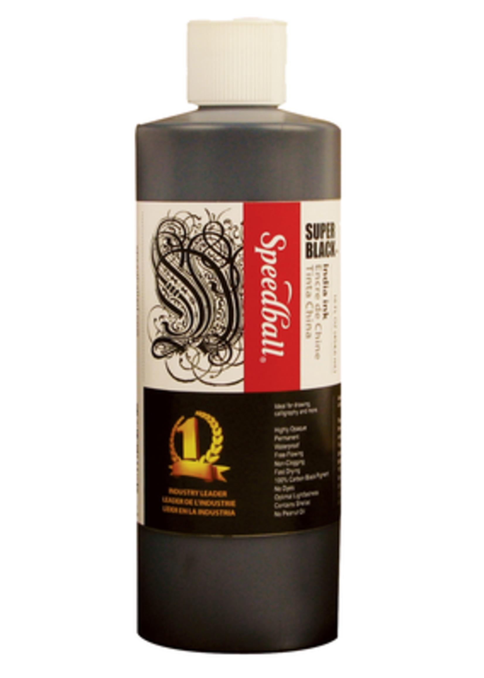 SPEEDBALL ART PRODUCTS SUPER BLACK INDIA INK