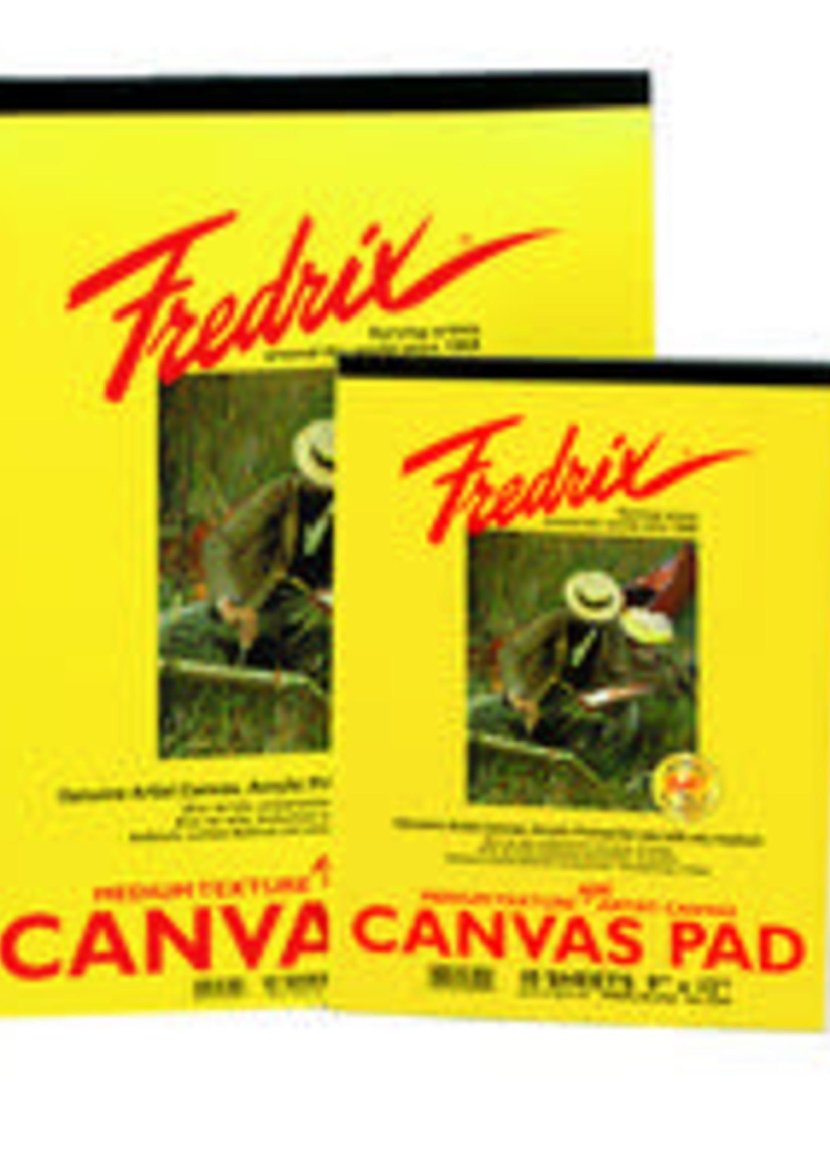TARA/FREDRIX WHITE REAL CANVAS PAD 10 SHEETS