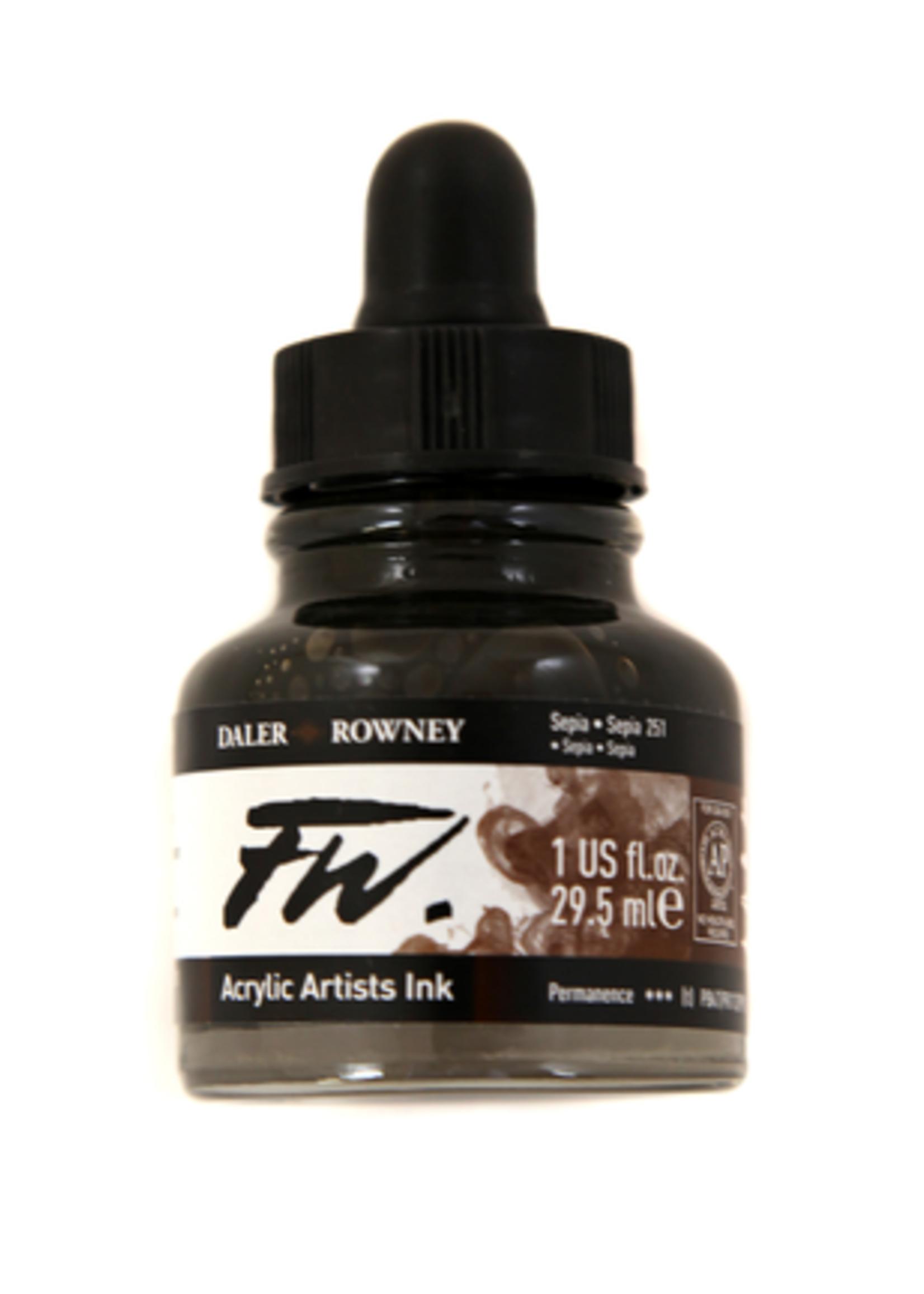 DALER-ROWNEY/FILA CO FW LIQUID ACRYLIC INK 1OZ -