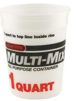 MULTI-MIX MULTI-MIX PLASTIC TUB 1QT