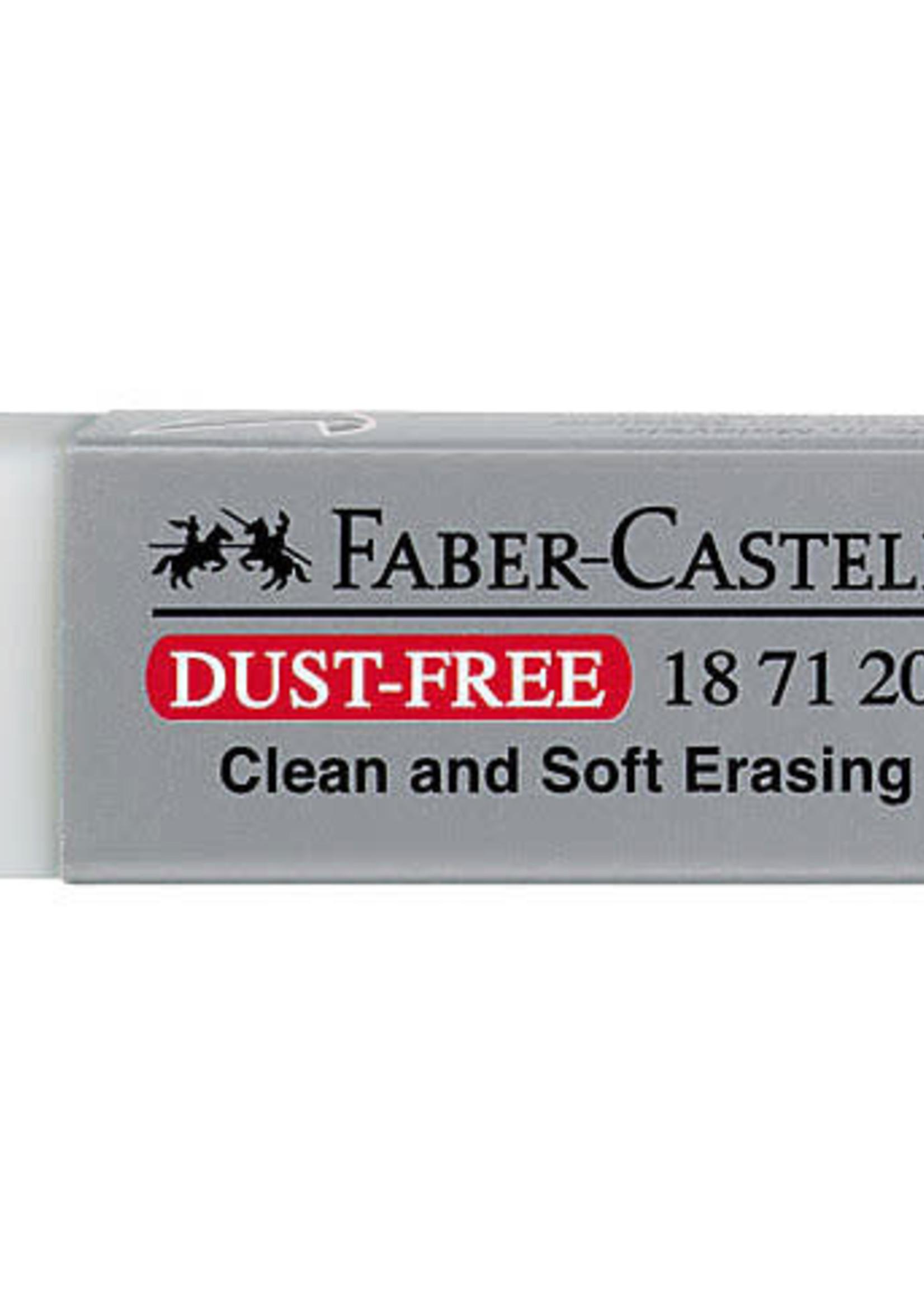 FABER-CASTELL USA ERASER LG WHT VINYL