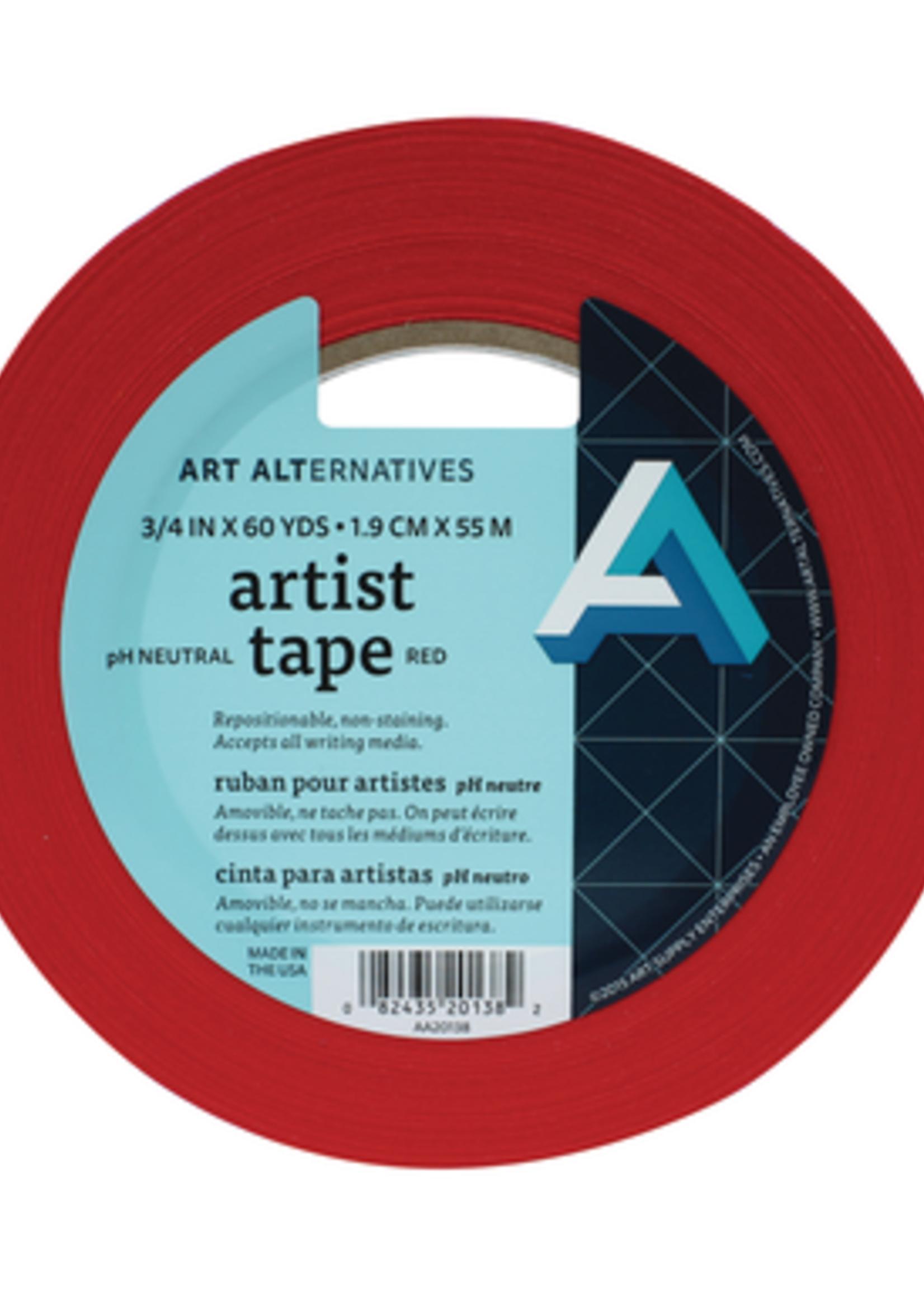 ART ALTERNATIVES ARTIST TAPE