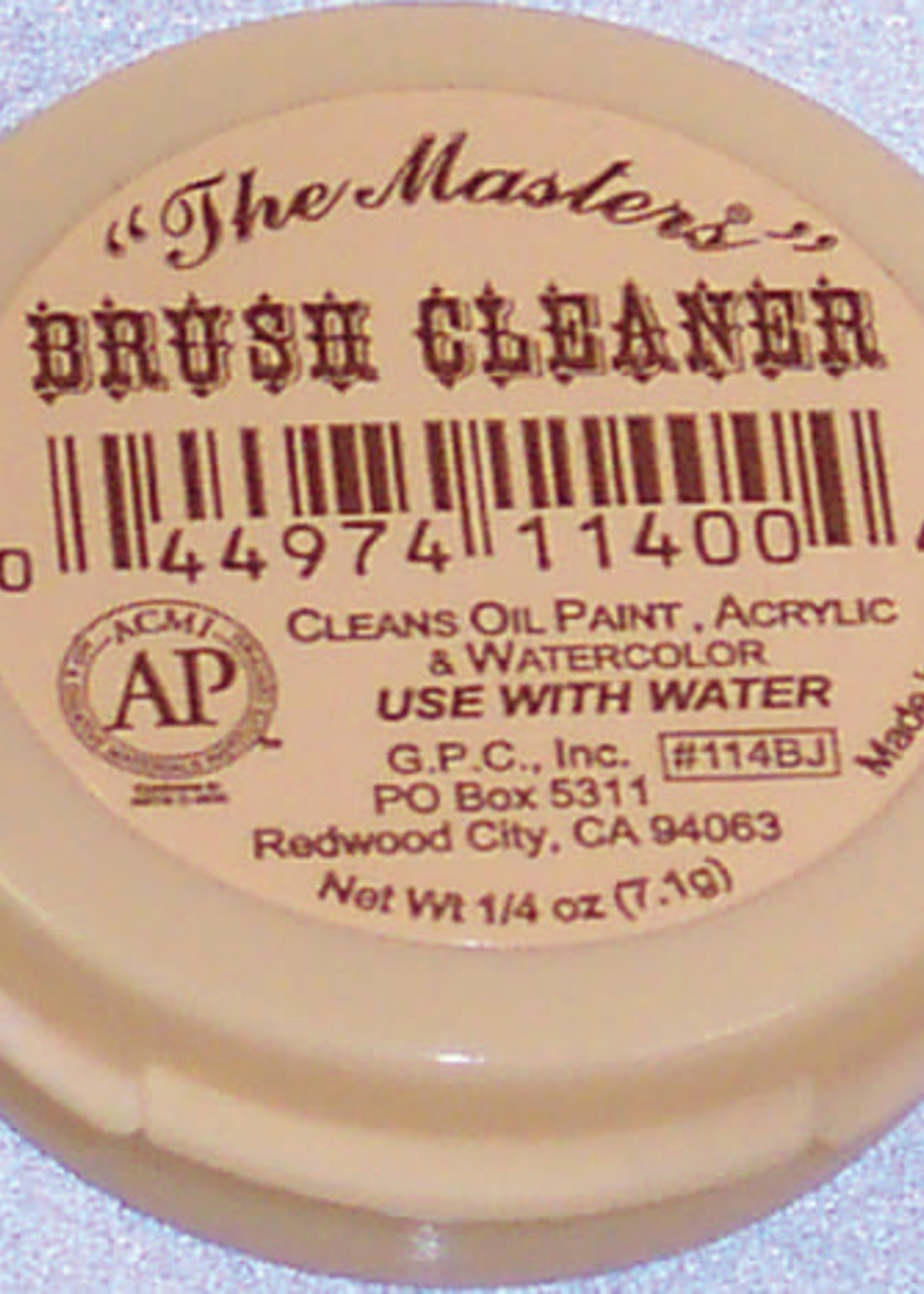 GENERAL PENCIL CO., INC. BJ MASTERS BRUSH CLEANER AND PRESERVER