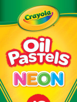CRAYOLA PASTELS OIL CRAYOLA NEON SET OF 12