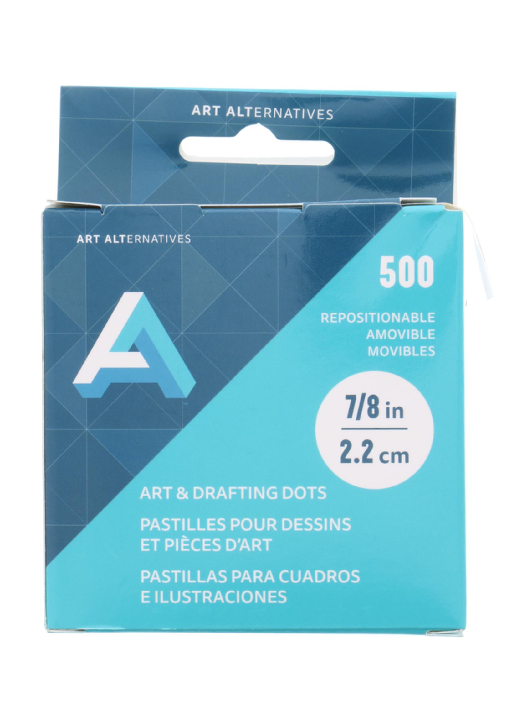 ART ALTERNATIVES AA DOTS- ART & DRAFTING 7/8 IN