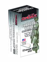 GENERAL PENCIL CO., INC. COMPRESSED CHARCOAL WHITE 12/BOX