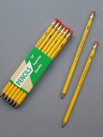 GENERAL PENCIL CO., INC. BADGER YELLOW HEX 2HB (SINGLE)