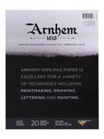 SPEEDBALL ART PRODUCTS ARNHEM 1618 PRINTMAKING PAPER PAD 20SH 8.5IN X 11IN