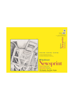 PACON/STRATHMORE NEWSPRINT SMOOTH TAPE 50 SHEETS 30LB 18X24