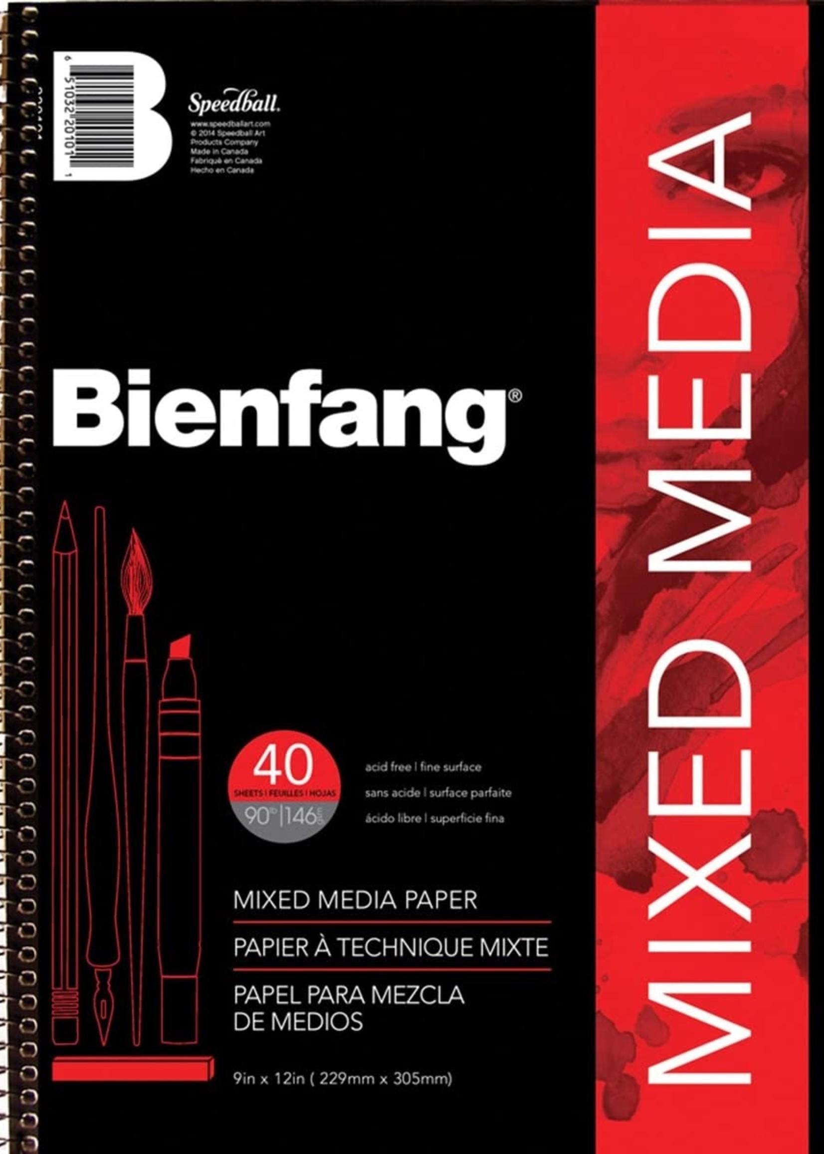 SPEEDBALL ART PRODUCTS BIENFANG MIXED MEDIA SKETCHBOOKS