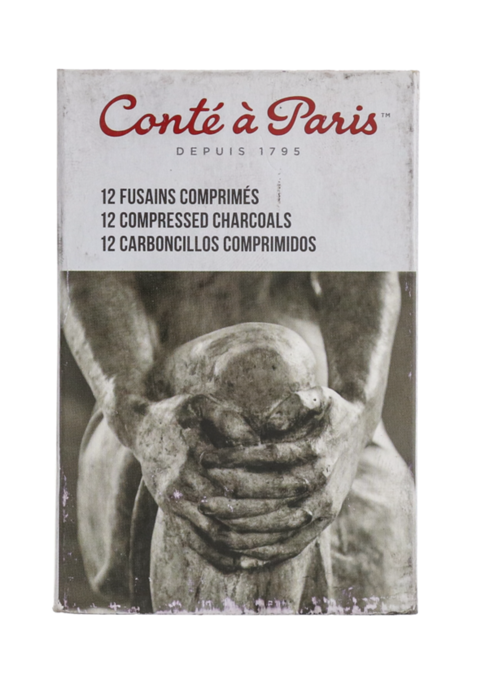 CONTE OF PARIS CHARCOAL COMPR ROUND 2B (SINGLE)