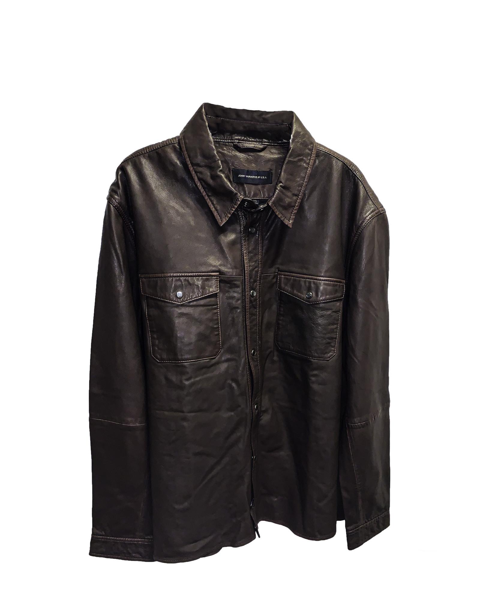 JOHN VARAVATOS U.S.A JOHN VARAVATOS U.S.A Leather Jacket