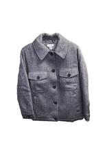 TOPSHOP TOPSHOP Petite Wool Blend Jacket
